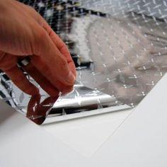 "Diamond Plate Film Vinyl Sheet Roll Simple Curve Wrap - 72"" Diamond Plate:Amazon:Automotive"