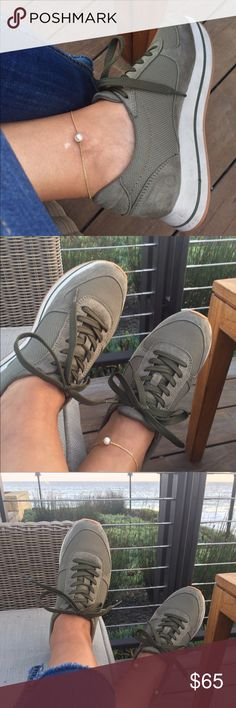 Sneaker time Olive and Ohhh so wonderful ... Easy, comfy, chic all the way ... Excellent condition ❤️ Zara Shoes