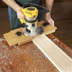 Right on the Money Fluting Jig Woodworking Plan, Workshop & Jigs Jigs & Fixtures Workshop & Jigs $2 Shop Plans #woodworkingtools #woodworkingtips #WoodworkPlans