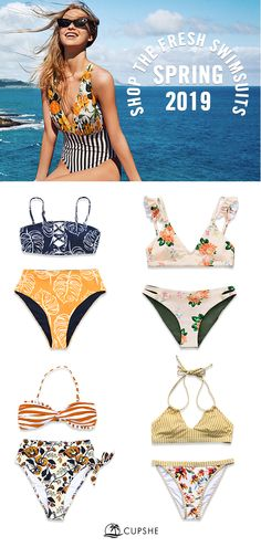 1ad2946f94 Shop this fresh swimsuits for your beach party! Because there's no such  thing as too