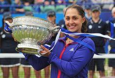 Tamira Paszek wins 2012 Eastbourne title