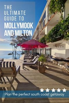 Mollymook Beach on the NSW South Coast is the perfect spot for a relaxing weekend away from Sydney. With stunning beaches, fabulous food and plenty to see and do you will find it very easy to fill your days here.