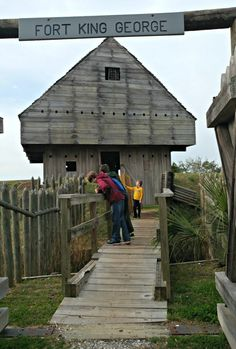 Join us on Day 2 of our Georgia Coast Road Trip!  The second day finds us in Darien, GA visiting 2 Georgia State Parks historic sites - Fort King George and Hofwyl-Broadfield Plantation.