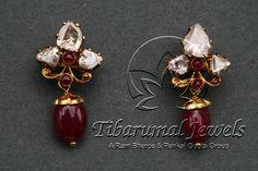 EAR TOPS | Tibarumal Jewels | Jewellers of Gems, Pearls, Diamonds, and…