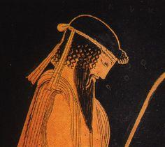 arte greca cratere - particolare