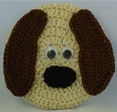 FREE PATTERN ~  Critter Dog Coaster