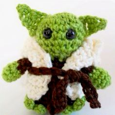 When I get the time, I am going to make this. http://m.allfreecrochet.com/Crochet-Amigurumi-Patterns/Little-Yoda-Crochet-Tutorial/ml/1