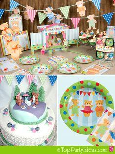 Bear Party theme