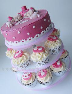 Lush Christening Cake