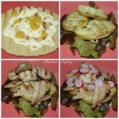 Sandwich de Cordero con Miel y Mostaza para Cenar