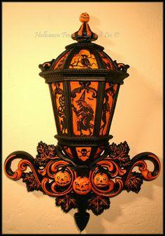 Halloween lantern by artist Cali Lee I really like this.