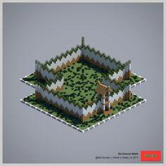 2017 World-o-Walls (Redux) Minecraft Wall Designs, Minecraft House Plans, Minecraft Tips, Minecraft Blueprints, Minecraft Creations, Minecraft Stuff, Minecraft Architecture, Minecraft Buildings, Minecraft Pictures