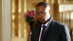 The actor's character, Harrison Wright, was last seen with a gun to his head in April's season-three finale.  Columbus Short has opted to exit the Shonda Rhimes political thriller following domestic abuse claims, The Hollywood Reporter has confirmed. PHOTOS: On-Set With the Gladiators: Inside the Fast-Paced World of ABC's 'Scandal'