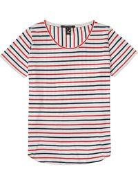 Basic gestreept T-shirt