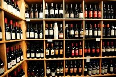 Our wine shop! Tons of selections from value to boutique to high end. Lots of local and CA selections. Wine Tasting Party, Liquor Store, Bar Ideas, Industrial Style, Wine Rack, Boutique, Canning, Shop, Home Decor