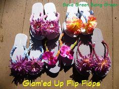 Glam'ed Up Flip Flops
