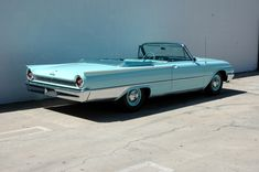 1961 Ford Galaxie Convertible, with Z Code 390/401hp factory Tri-Power engine, factory documents on 19,000 original mile car.