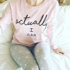 Actually I can Monday Motivation Cute jumper from newlookfashion