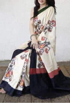 Black N White Printed Design Heavy Linen Cotton Saree Black And White Fabric, Black N White, Gray Fabric, Color Black, Colour, Bridal Silk Saree, Soft Silk Sarees, Khadi Saree, Kurti