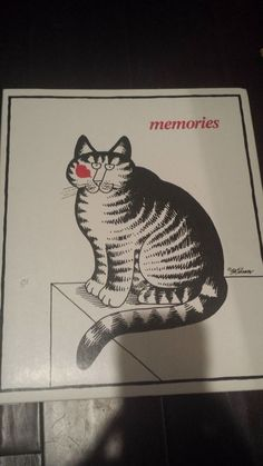 KLIBAN CAT SCRAPBOOK