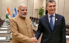 PM Modi meets President of Argentina, Mr. Mauricio Macri