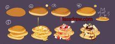 Картинки по запросу как рисовать еду
