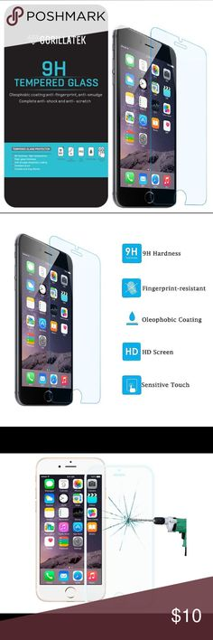 Screen Protector for the New iPhone 7 and 7 Plus Remember when you first got your iPhone?  Why, you carried it around as if it were a newborn baby! Cradled it to ensure that no harm would ever come to it and barely let it out of your sight for fear that scratches would appear out of nowhere.  Time to get yourself a screen protector-one that will safeguard your baby from dust, fingerprints, and scratches, while being easy to install and bubble-free.  Made with high-quality tempered glass…