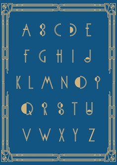 Typographie : Elle est gratuite et elle s'appelle « Metropolis »
