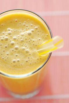 Peach Oolong Almond Milk Bubble Tea