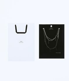 "Image 3 of ""UNTITLED JEWELS"" COLLECTION CHAINS NECKLACE from Zara"