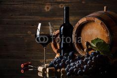 Printed kitchen splashbacks Wine Still life with red wine