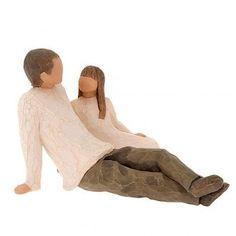 Willow Tree figurine Father and Daughter (padre con figlia) | vendita online su…