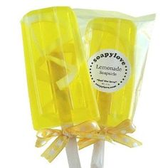 Cute hostess gift - Popsicle soapsicle soap!