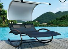 chaise design pour relaxation dans jardin par Jarder