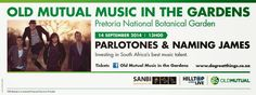 Welcome to the Weekend Magazine :   The Parlotones to kick Spring into high gear at ...