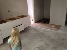 Master bath Master Bath, Tile Floor, New Homes, House, Home, New Home Essentials, Haus, Houses