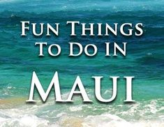 There's so much to do on the island of Maui, but most visitors don't know where to start. We've decided to list fun things to do in Maui to give our viewers locally preferred options.   1. The Road to Hana Without a doubt,