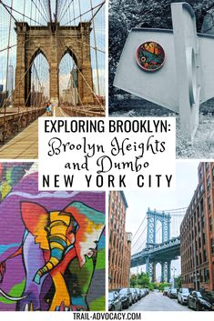 Exploring Brooklyn: Brooklyn Heights and DUMBO - Trail Advocacy New York Travel Guide, Usa Travel Guide, New York City Travel, Travel Usa, Travel Guides, Travel Tips, Canada Travel, Nyc Itinerary, Brooklyn Heights