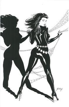 Black Widow by Paul Gulacy