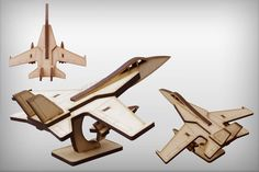 3d puzzle mdf with laser cut