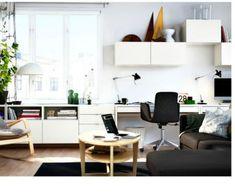 From IKEA - Besta Range - wall