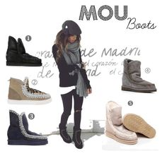 """MOU BOOTS"" by martatrendav-1 on Polyvore featuring moda"