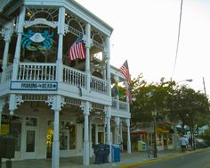 Key West, the old Crabby Dick's