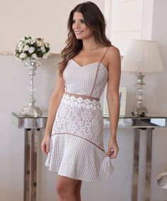 Fashion Wear, Look Fashion, Trendy Fashion, Fashion Models, Girl Fashion, Fashion Dresses, Womens Fashion, Short Dresses, Girls Dresses
