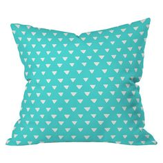 I pinned this Bianca Green Geometric Confetti Pillow from the DENY Designs event at Joss and Main!