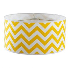 "16"" Euro Fitter Chevron Drum Shade- 4 Colors"