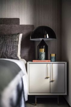 The best of luxury nightstands and bedside tables in a selection curated by Boca do Lobo to inspire interior designers. Discover unique nightstands for your bedroom. Luxury Bedroom Furniture, Interior Design Living Room, Furniture Design, Bedroom Decor, Furniture Makers, Bedroom Lighting, Design Bedroom, Master Bedroom, Bedroom Goals