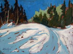 Bruno Côté Bruno, Canadian Artists, Landscapes, Illustration, Painting, Paisajes, Illustrations, Painting Art, Paintings