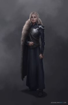 """Daenerys Targaryen is no maid, however. She is the widow of a Dothraki khal, a mother of dragons and a sacker of cities, Aegon the Conqueror with teats. "" Daenerys Targaryen by Jesus Blones Arte Game Of Thrones, Game Of Thrones Artwork, Game Of Thrones Poster, Game Of Thrones Fans, Jon E Daenerys, Daenerys Targaryen Art, Khaleesi, Danyeres Targaryen, Game Of Thones"