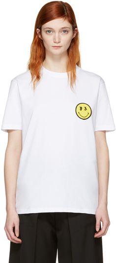 PALM ANGELS While Smiling T-Shirt. #palmangels #cloth #t-shirt